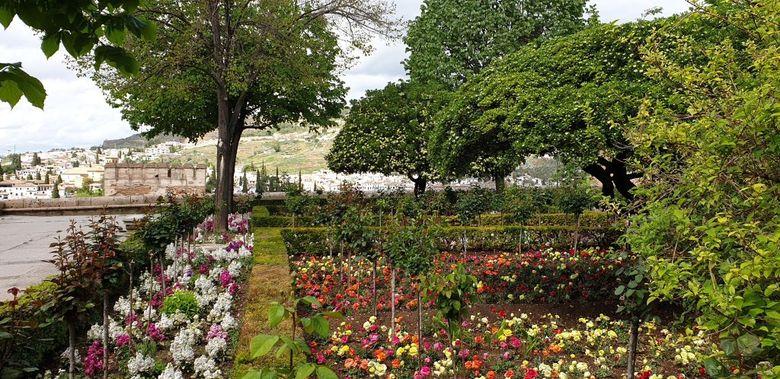 Reisebericht aus Andalusien:  Gärten an der Alhambra