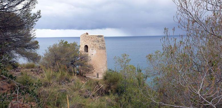 Reisebericht aus Andalusien:  Einer der vielen, der Torre de Caleta