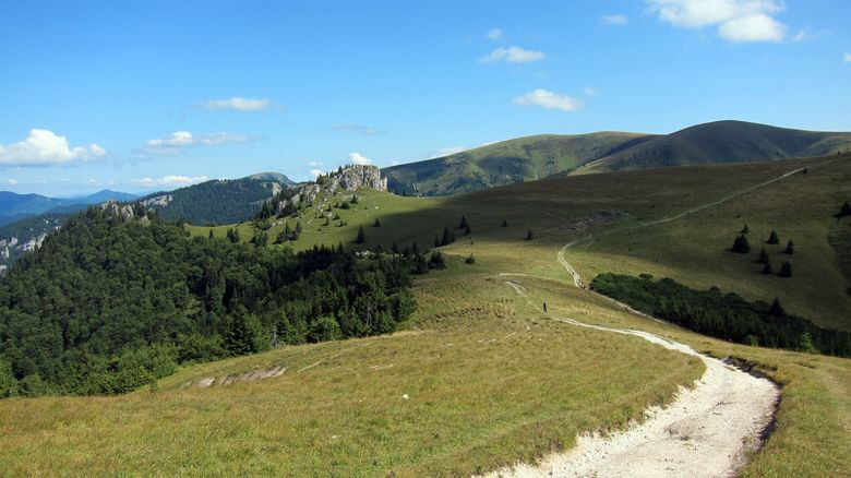 Slowakei, Radweg in der Grossen Fatra
