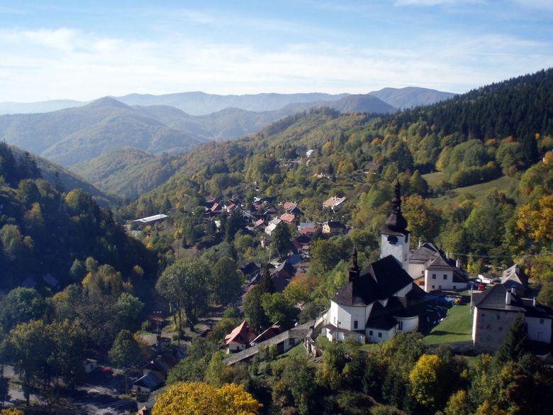Slowakei, Spania Dolina im Herbst
