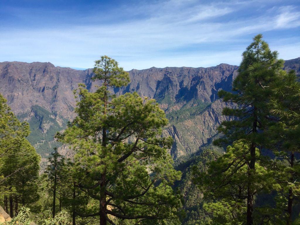 Berge La Palma