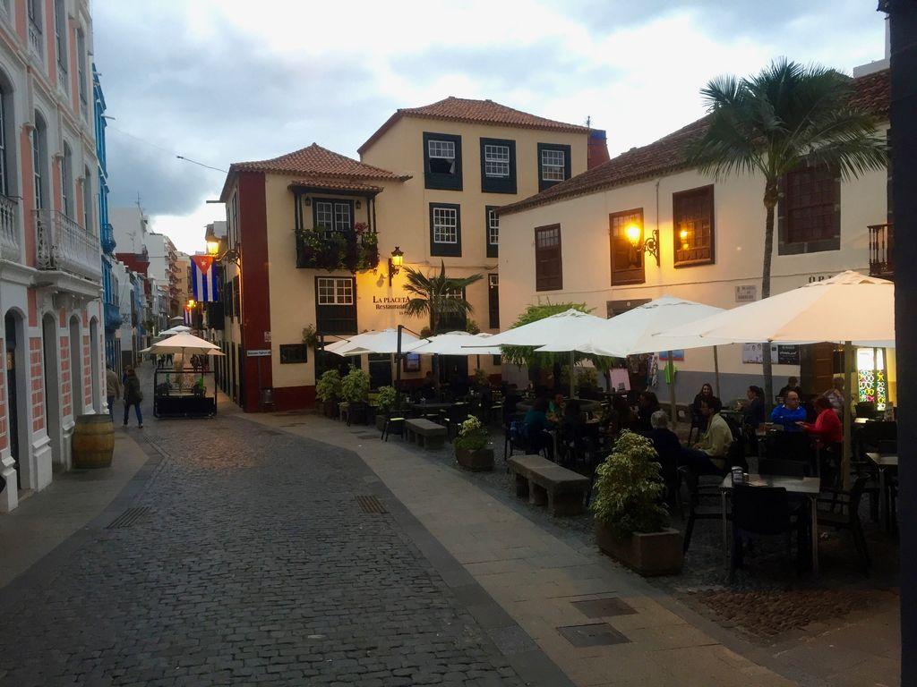 Abend auf La Palma