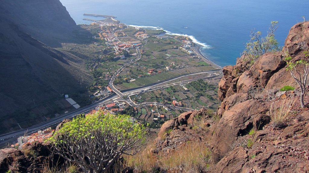 Blick ins Tal von Valle Gran Rey