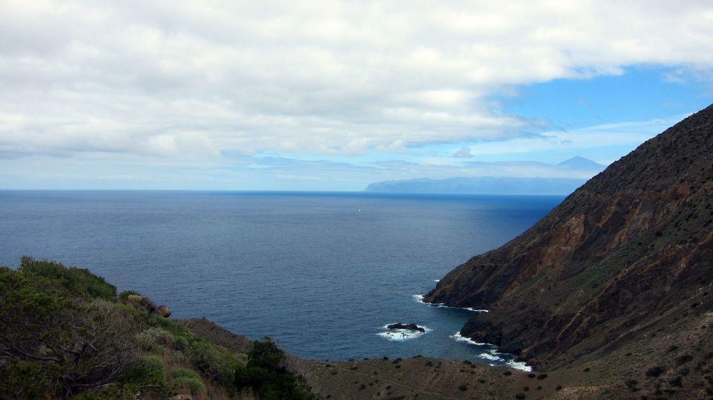 Blick zum Pico del Teide, Teneriffa