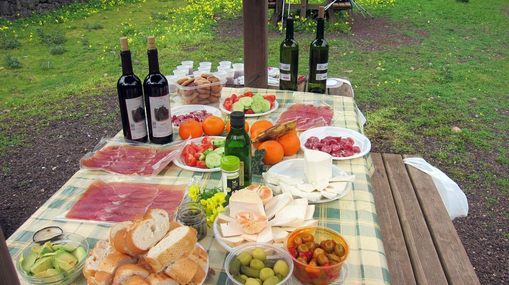 Picknick in El Cedro