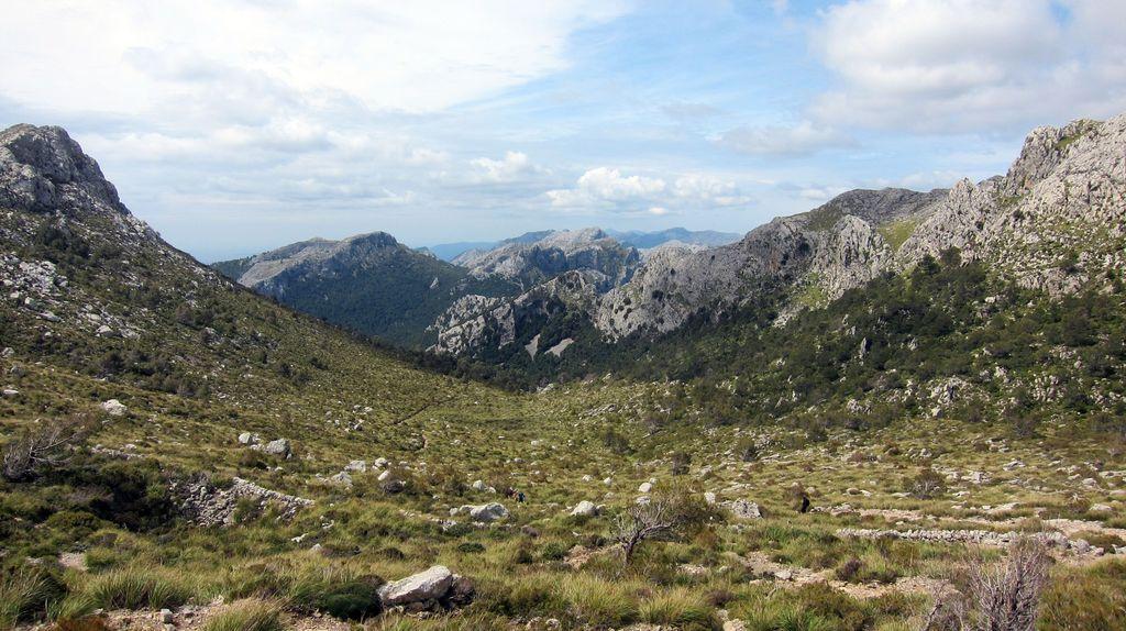 Landschaft unter Masanella