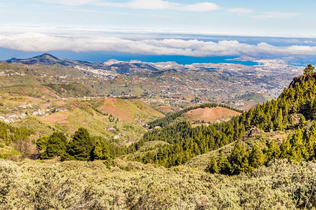 Gran Canaria: Ausblick von Pico de las Nieves