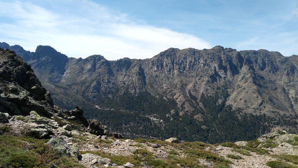 Alpine Bergwelt von Korsika