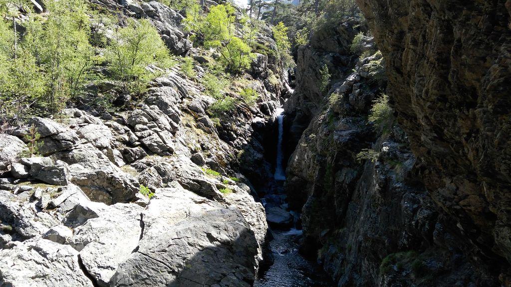 Korsika: Wasserfall