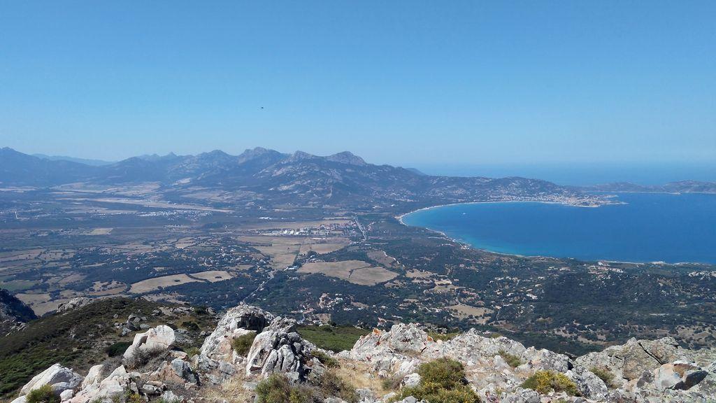 Korsika: Meeresblick