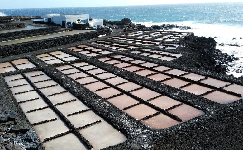 La Palma: získavanie morskej soli