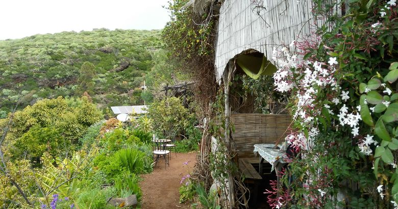 Bio kaviareň na kanárskom ostrove La Palma
