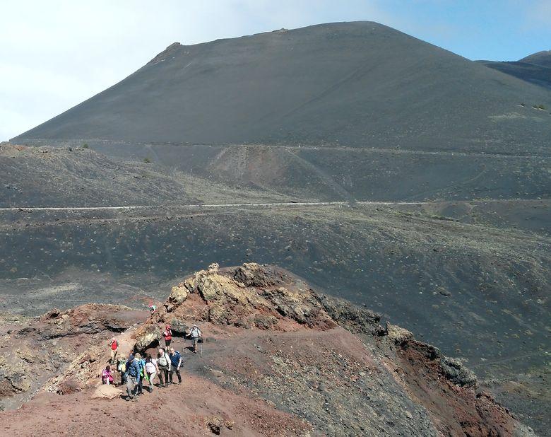 La Palma: vulkány Teneguia a San Antonio