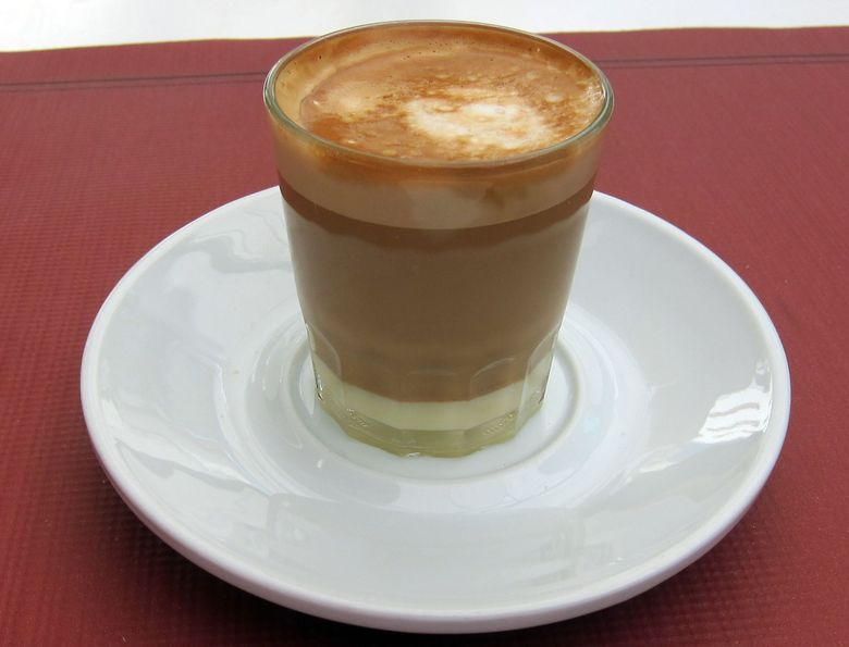Španielska káva cortado