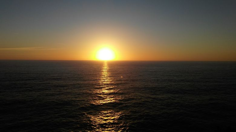 Zapad slnka na konci sveta