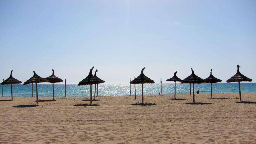 Pláž Playa de Palma, Malorka
