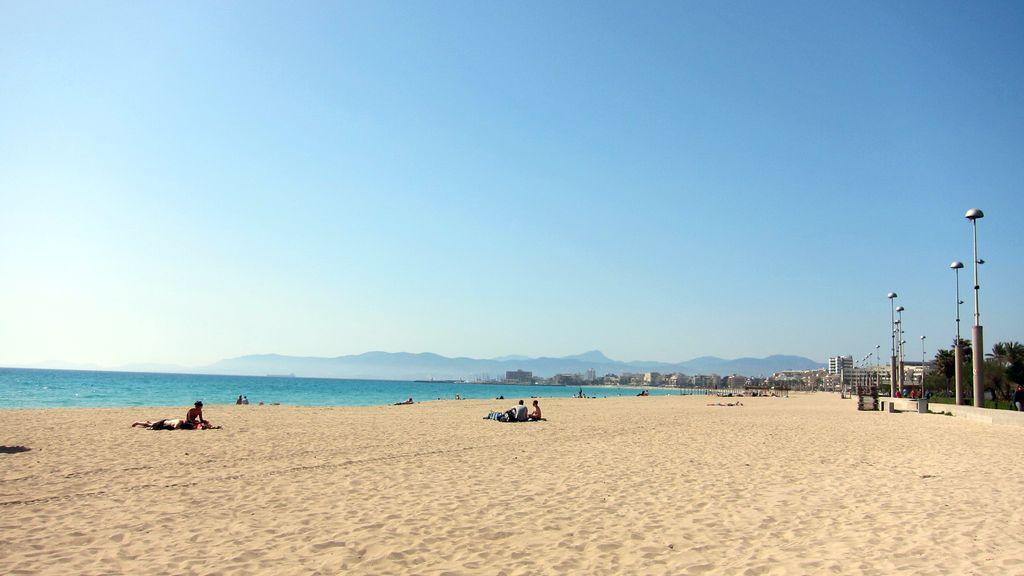 Pláž na Malorke