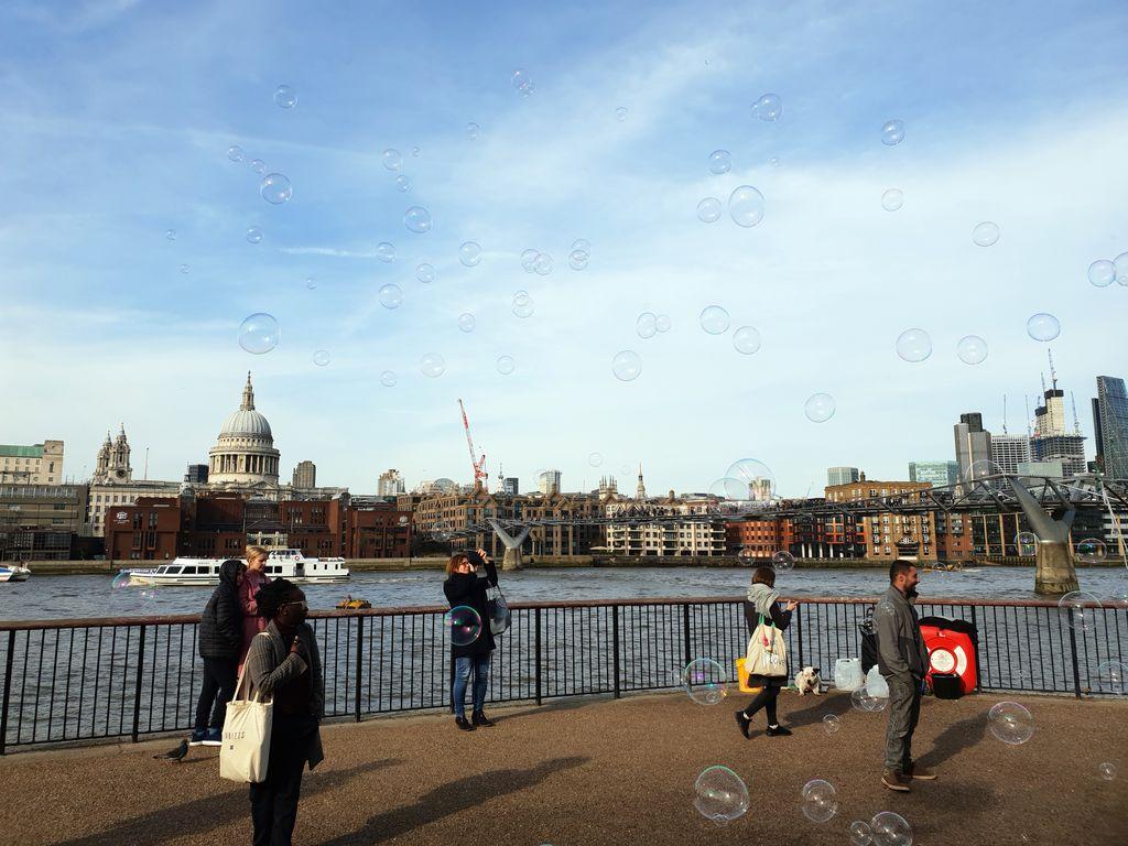 Londýn, nábrežie Temže