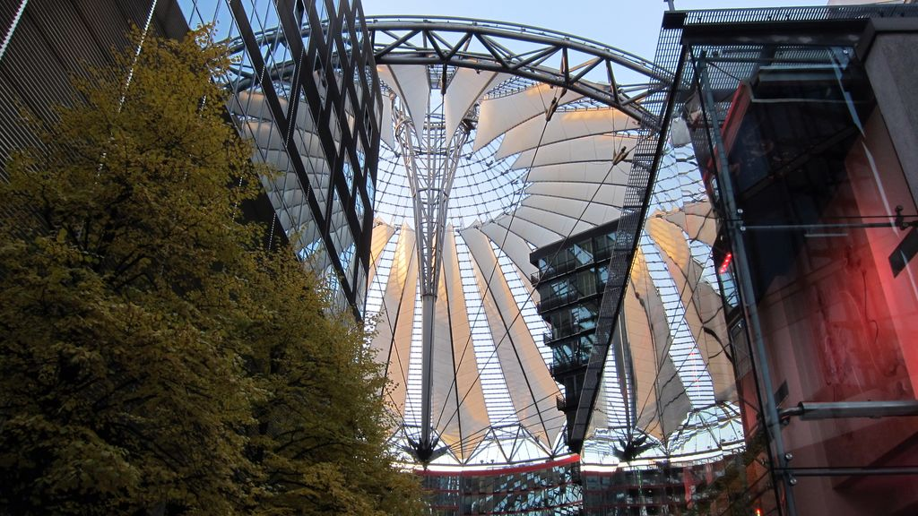 Berlín, moderná architektúra
