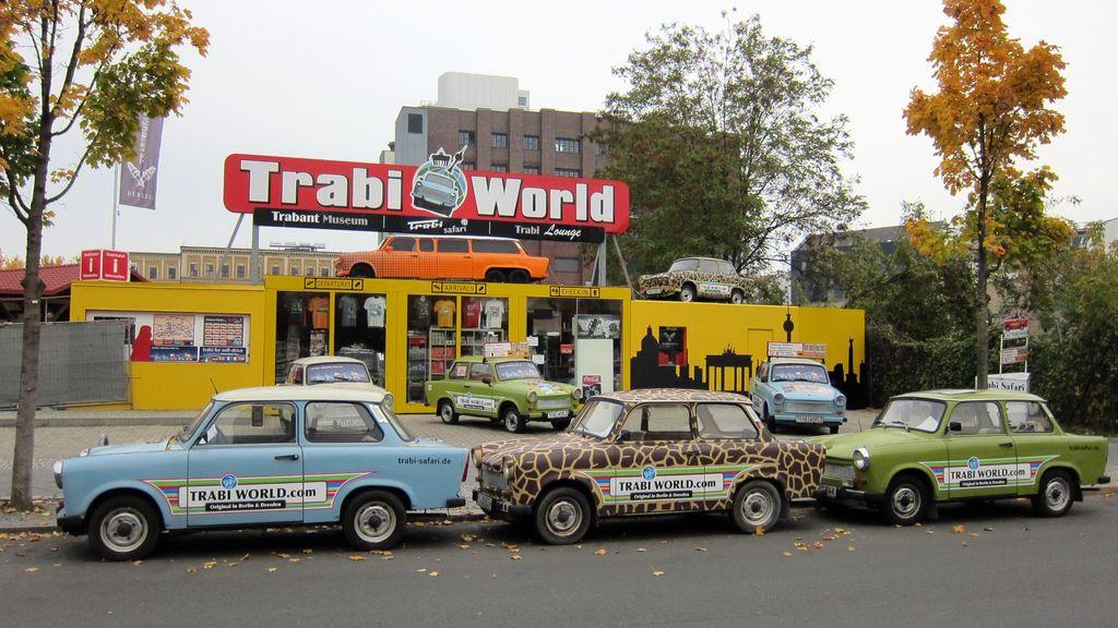Berlín a trabanty