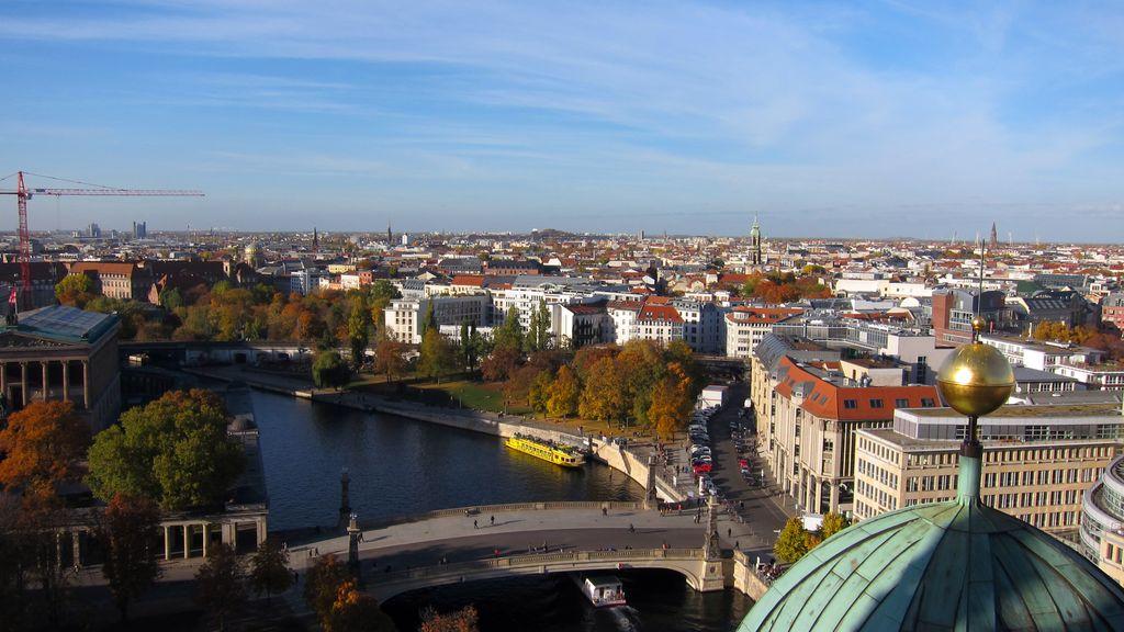 Berlín, výhľad z Berlínskeho dómu